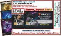 MAGIC MTG Arena Code: Planeswalker Deck Theros: ASHIOK & ELSPETH & LANDS INSTANT