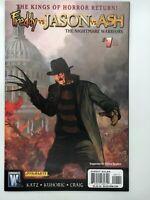 Freddy vs Jason vs Ash Nightmare Warriors #1 Freddy variant 2009 Wildstorm