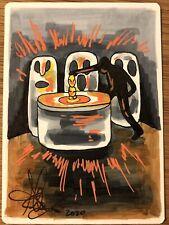 MTG ARTIST PROOF Foreign Steal Artifact AP Sketch Art Amy WEBER Magic