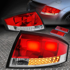 [3D LED DESIGN]FOR 99-06 AUDI TT & QUATTRO TAIL LIGHT BRAKE PARKING LAMPS RED