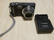 Panasonic Lumix DMC-TZ7 12x Zoom 10.1MP Digital Camera Leica lens Black.TESTED.