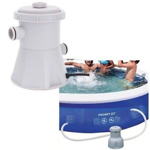 Piscina Filtro Bomba Eléctrico 220V Plástico Portátil Agua Limpieza Herramientas