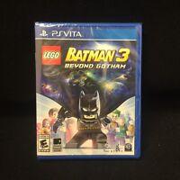 LEGO Batman 3: Beyond Gotham  (PlayStation Vita, 2014) Brand New / Sealed