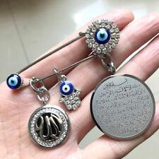 Ciondolo occhio turco di Allah contro il malocchio in vetro lampworks