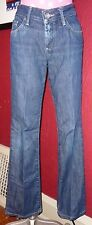 Blue Denim BANANA REPUBLIC Urban Boot Cut Jeans Sz 2 Stretch Low Rise Classic