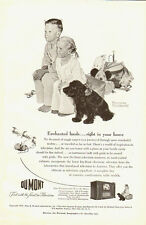 1950's Vintage ad for Dumont Television~Art ~Norman Rockwell (101213)