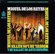 EP MIGUEL DE LOS REYES y su BALLET de ARTE ESPAÑOL arrepentios + 3 SPAIN 1967