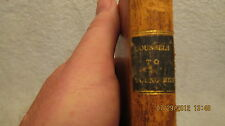 1800s Book: Counsels to Young Men on Modern Infidelity & Christianity by Morison