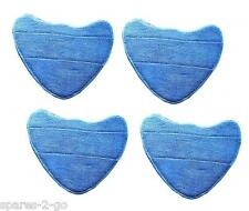 4 x Vax S2 S2S S2ST Microfibre Cleaning Pads - Hard Floor Pro Steam Cleaner Mop