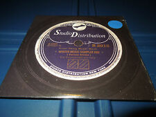 STUDIO DISTRIBUTION - WINTER MUSIC SAMPLER PROMO CD - KOOP, WILL I AM, AIM,