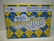 Kindermusik Sticker Play Set Hello Weather Lets Play Together 3 Kittens
