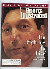 Sports Illustrated Jim Valvano No Carolina St 1993 Sugar Bowl Alabama Miami