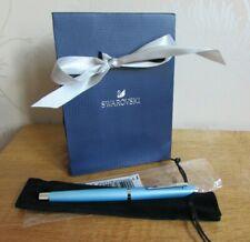 Swarovski Crystal Blue Pearl Enamel Starlight Ball Point Pen NEW & Gift Bag £45
