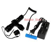 UltraFire Tactical 501B 18650 CREE XM-L L2 LED 3Mode Flashlight + Battery Mount