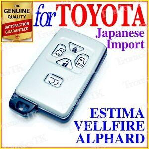 FOR TOYOTA ESTIMA / ALPHARD / VELLFIRE REMOTE SMART KEY 5 BUTTONS