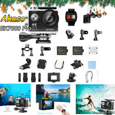 AKASO EK7000 Pro 4K Action Camera Touch Screen EIS Waterproof Outdoor Camcorder