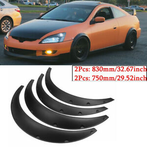 4* Fender flares for Honda Accord Civic wide body kit wheel arch JDM 50mm/90mm