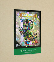 Xbox One Exclusive promo Rare Replay Card from Gamescom 2015 ( FOIL )