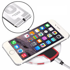 Qi Wireless Charging Pad with Qi Transmitter Receiver for iPhone 5, 6, 7, 8 , X