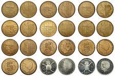 Netherlands- Lot 5 Gulden 1988 - 2000 + 2X 1 gulden 2001
