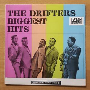 THE DRIFTERS Biggest HIts PLUM ATLANTIC 1967 UK Original MONO VINYL LP EX