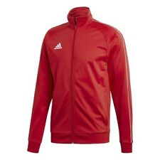 adidas Core 18 Polyester Jacket Kids Red White 128