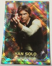 Han Solo STAR WARS Force Collection Promo Card Holo / Shiny Japanese