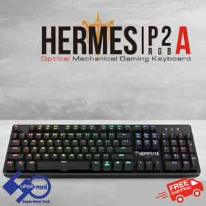 Gamdias Hermes P2A RGB Backlight Mechanical Switches PC Computer Gaming Keyboard