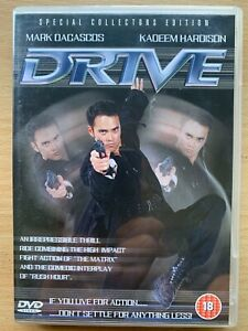 Drive DVD 1997 Martial Arts Action Movie w/ Mark Dacascos and Brittany Murphy