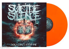 SUICIDE SILENCE - YOU CAN'T STOP ME, 2014 LIMITED EDN ORANGE vinyl LP, SEALED!