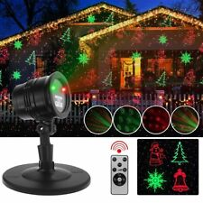 NEW Christmas Holiday Garden Landscape Lights Projector Laser Indoor Outdoor