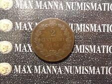 VITTORIO EMANUELE II 2 CENTESIMI RAME 1861 NAPOLI COD. VITTORIOEMANUELEII-39