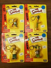 The Simpson's Fun 4 All Plastic Key Chains 91345