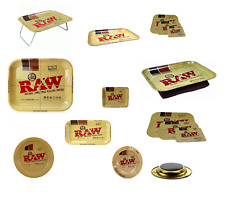 RAW Papers Metal Rolling Tray & Covers