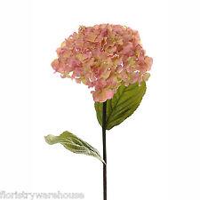 Artificielle hydrangea tige Vintage Rose 68cm / 26.75 pouces