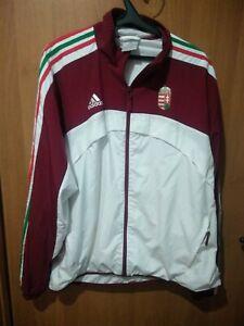 Hungary original Adidas 2007 zip jacket track top jersey sweat shirt Size XL