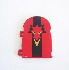 PLAYMOBIL (L3209) MOYEN-AGE - Volet pour Fenêtre Forteresse Dragon Rouge 3269