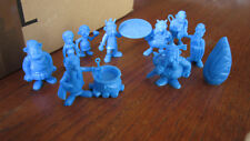 Lot de  figurines ASTERIX -  Uderzo mono couleur