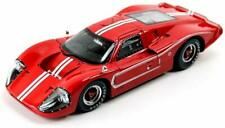 1967 FORD GT MK IV RED 1:18 DIECAST MODEL CAR BY SHELBY COLLECTIBLES SC420
