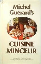 Cuisine Minceur by Michel Guerard vintage hardcover dust jacket illustrated