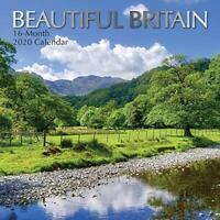 Beautiful Britain: 2020 Square Wall Calendar