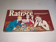 Vintage 1970's RAT RACE Board Game ALMOST UNUSED CONDITION WADDINGTONS COMPLETE
