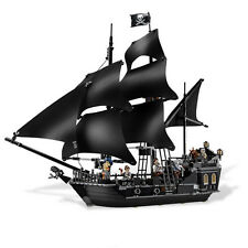 804pcs Building Bricks Pirates of the Caribbean the Black Pearl Ship Model Toys