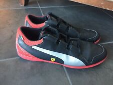 "Puma Ferrari men's shoes Size ""14"" Black Red"