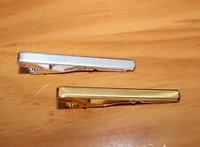FREE ENGRAVING (PERSONALIZED) Tie Bar Gold Tone or Silver Tone