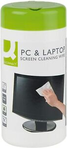 100 Screen Cleaning Wet Wipes Laptop LED LCD TV Computer Phone iPad Cleaner UK