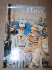 2K Affiche Exposition Grand palais Paris 1983 MANET