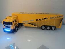 Große Europa Truck LKW 49cml Funkfernbedienung Auto LED Scheinwerfer-Gelb