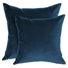 Small Velvet Navy Cushion Cover - 40x40cm