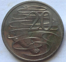 Australia 20 cents coin 2001